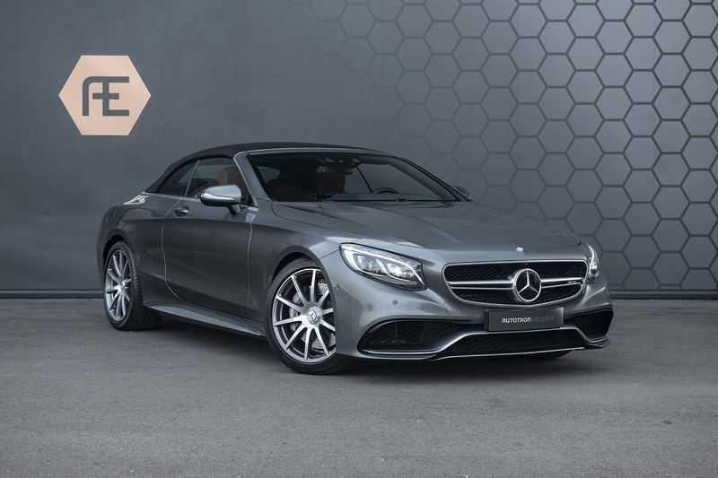 Mercedes-Benz S63 Cabrio 63 AMG 4Matic DISTRONIC + BTW + BURMESTER afbeelding 12