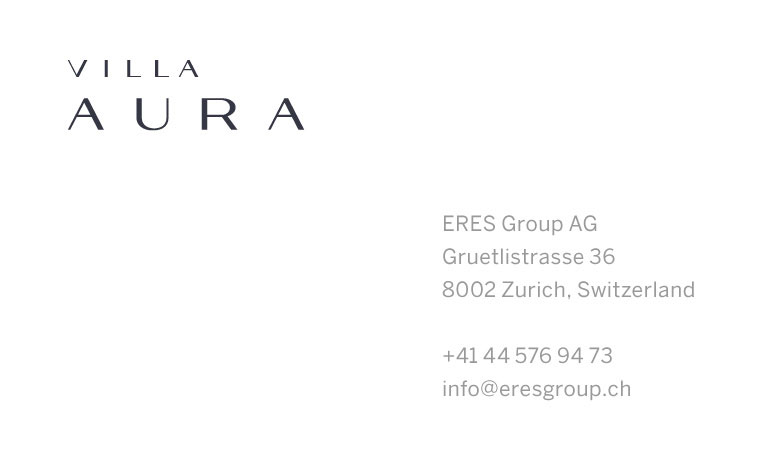 Aura business card