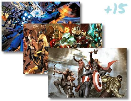 Avengers theme pack