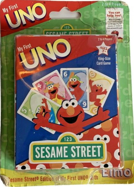 Sesame Street: Elmo My First Uno