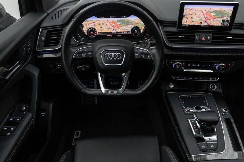 "Audi SQ5 3.0 TFSI 354pk Quattro Black Edition Panoramadak Luchtvering Valconaleder+Memory Carbon Matrix-Dynamisch Keyless Navi-High ACC DriveSelect  21""Performance 360Camera Pdc afbeelding 3"
