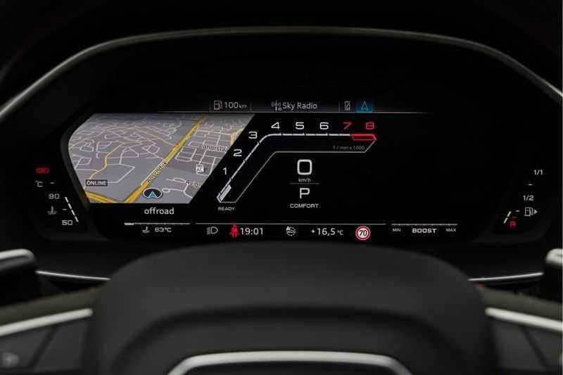 "Audi RSQ3 Sportback 2.5 TFSI 400pk Quattro Panoramadak BlackOptic B&O ValconaLeder+Memory Matrix Navi/MMI DriveSelect Keyless Camera 21"" Pdc afbeelding 20"