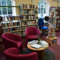 Improved layout and decoration at Long Melford Library