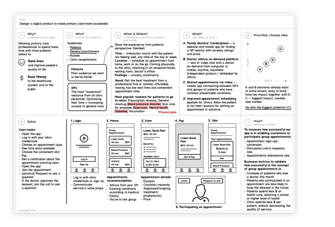 Framework Canvas in Use