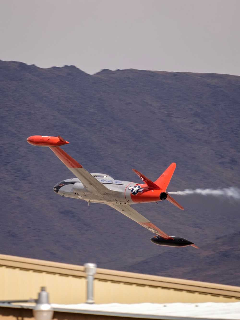 T-33 chase plane
