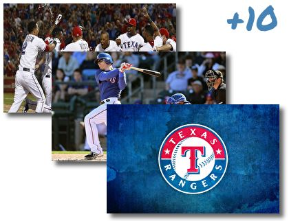 Texas Rangers theme pack