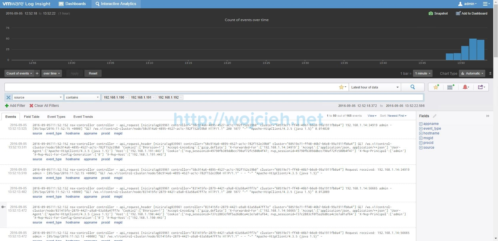 Configuring Syslog server for VMware NSX components - 8