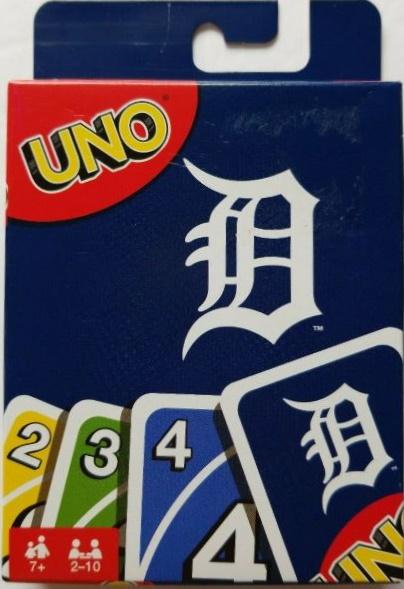 Detroit Tigers Uno