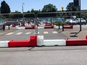 Slotblock Water Filled Barrier