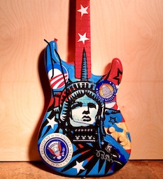 Guitar Comissioned by Barack Obama, Concept by Ben Feigin
