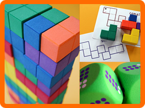 4-group Number Blocks and Dice