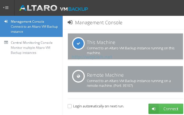 Altaro VMware Backup - 3