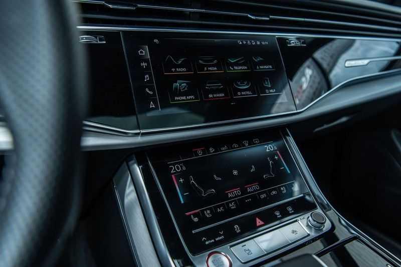 Audi SQ8 Quattro Pro Line S , 435 PK, Black/Optic, Head/Up, Pano/Dak, Valcona/Leder, S/Sportstoelen, 2020, 25DKM!! afbeelding 14
