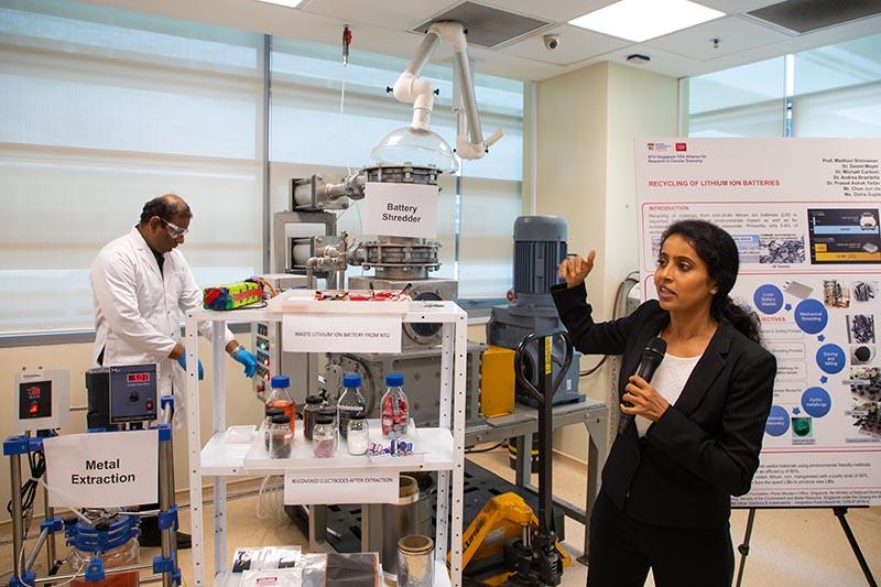 Professor Madhavi Srinivasan, co-director of SCARCE