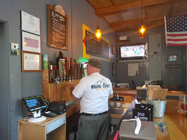 White Mountain Brewing Company pub