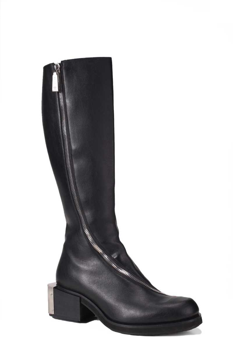 Riding boot in pleather black GmbH AW21 - 2