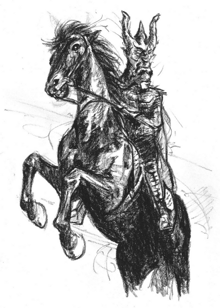 Horseman Sketch