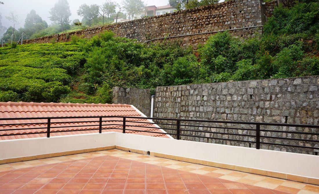 Terrace facing Attadi