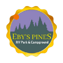 Eby's Pines RV Park & Campground Logo