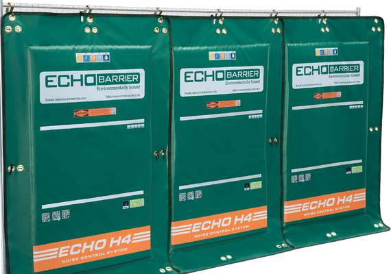 Echo H4 Acoustic Barrier