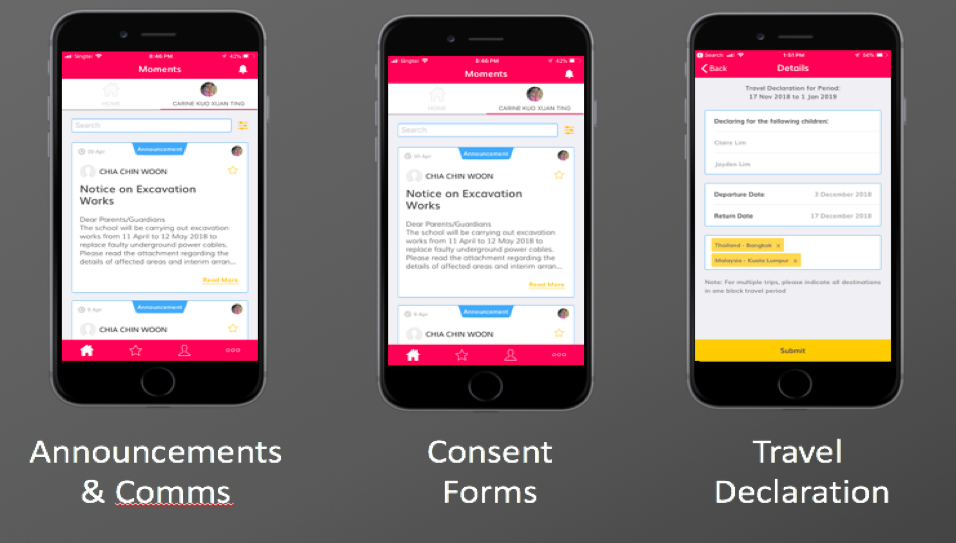 Alpha versions of the app rolled out to 66 schools in 2018