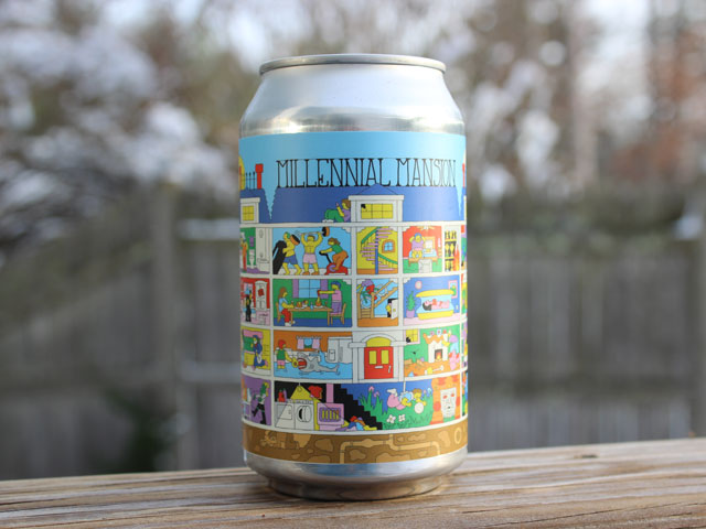 Millenial Mansion, a Imperial Sour Ale brewed by Prairie Artisan Ales