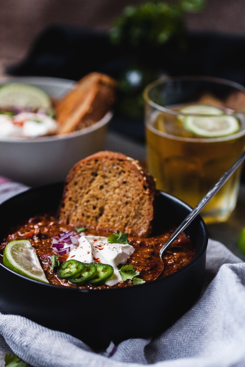 Weeknight Chili With Homemade Chili Paste