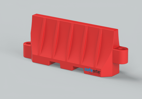 Site-Wall Barrier Red