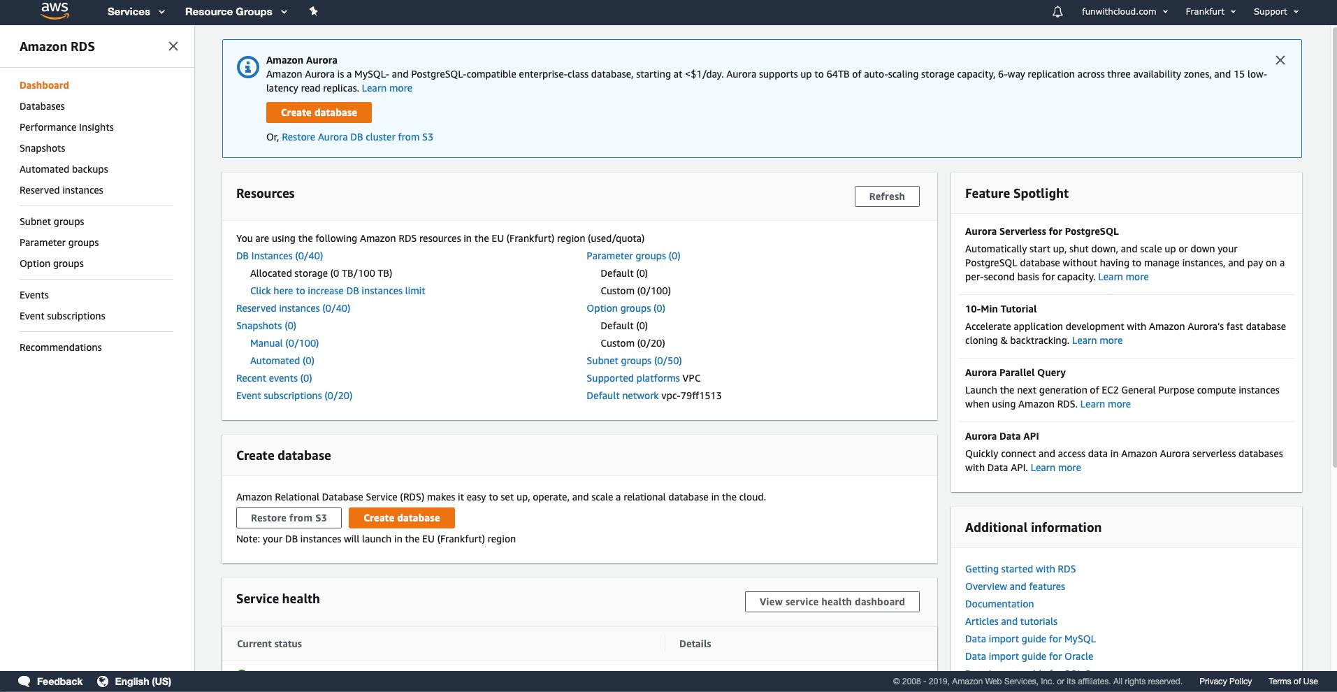 Install MySQL Database in AWS 2