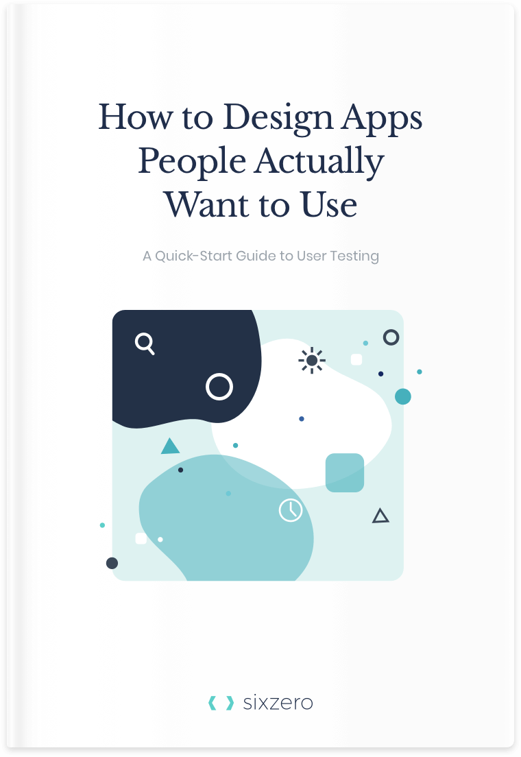 Book cover for How to Design Apps People Actually Want to Use