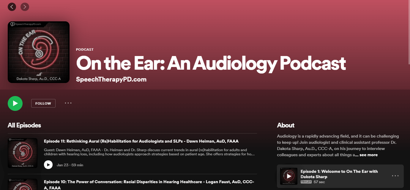 Example of podcasting as a marketing tool for audiologists