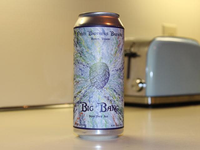 Foley Brothers Brewing in Brandon, VT (Big Bang IPA)