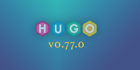 Featured Image for Hugo 0.77.0: Hugo Modules Improvements and More