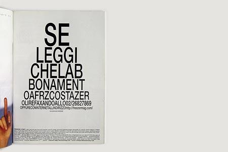 advertising - freezer-magazine