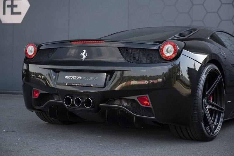 Ferrari 458 4.5 V8 Italia New Power Garantie T/M 12-03-2022, Carbon Sport Seats, Custom Exhaust, Carbon exterieurdelen afbeelding 24