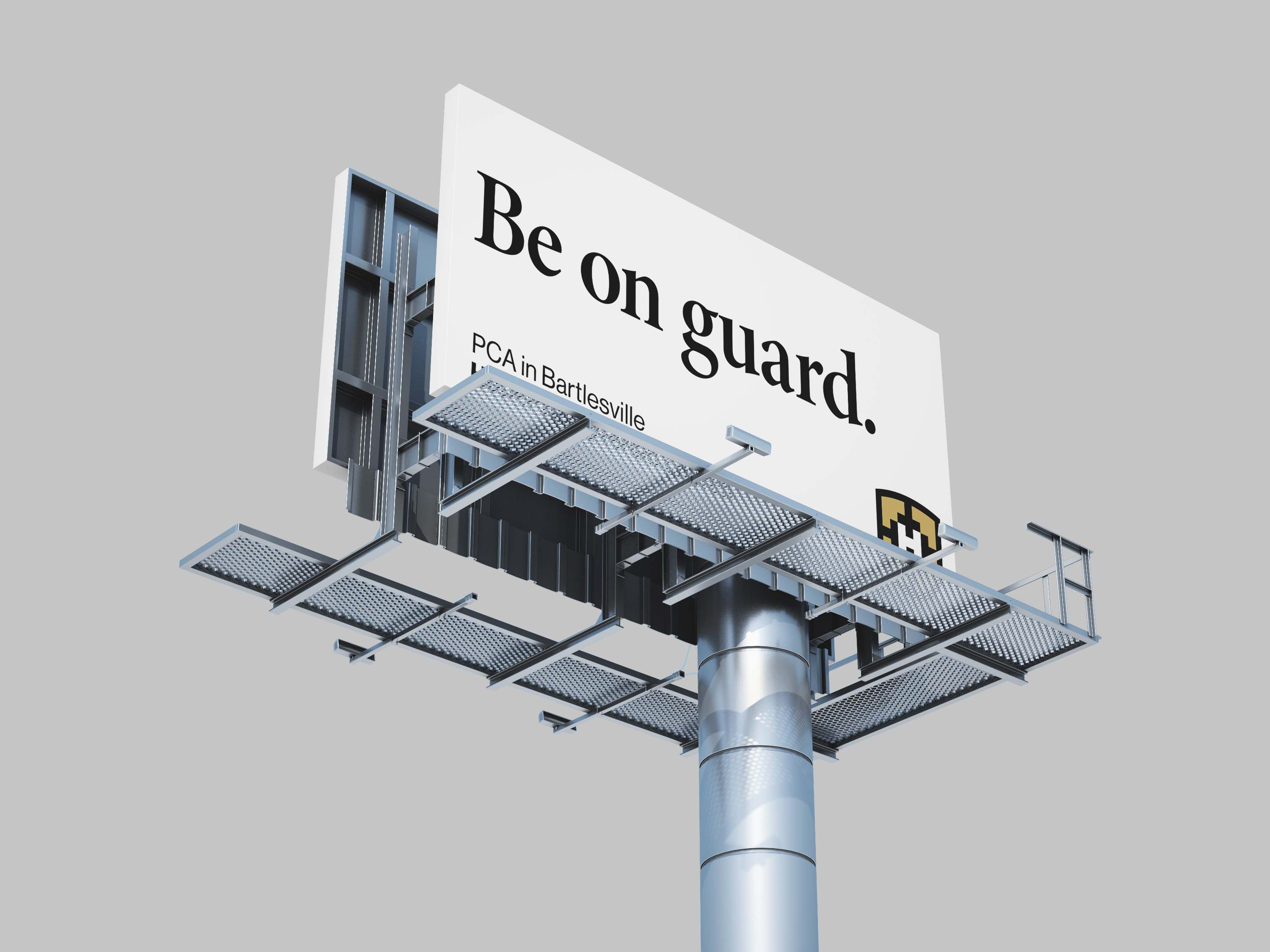 Be on guard.