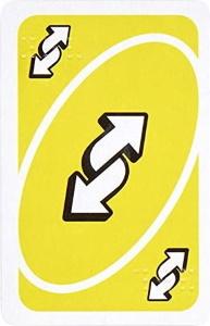 Classic Uno Reverse Card