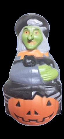 Witch On A Pumpkin photo