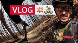 💥🚴 irgendwann musste es ja passieren: der erste Sturz auf Video | Mountainbike VLOG in Wien