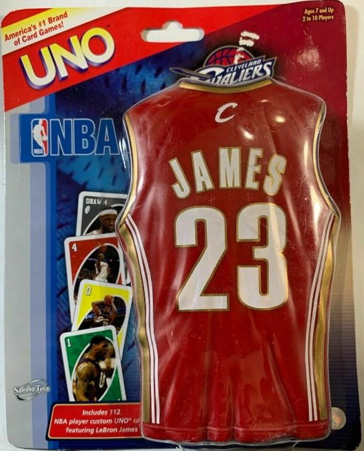 Cleveland Cavaliers Uno: Lebron James