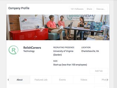 Company Profile Custom Views
