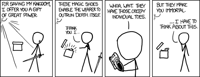 xkcd: Outrun Death Itself