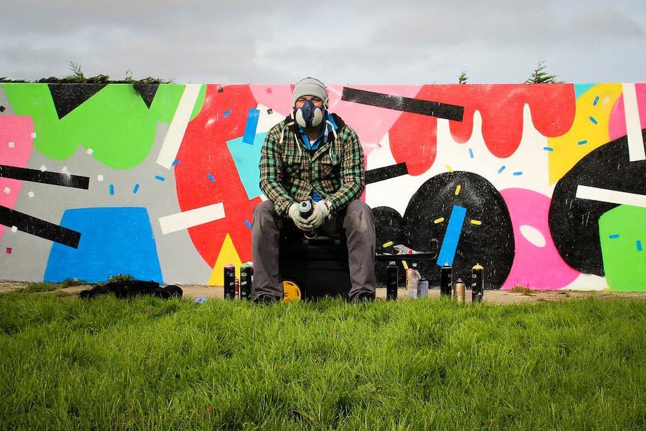 mural graffiti and street artist cornwall