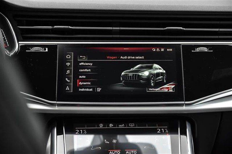 Audi Q8 55 TFSI S-LINE+23INCH+PANO.DAK+360CAM+BLACKLOOK afbeelding 21