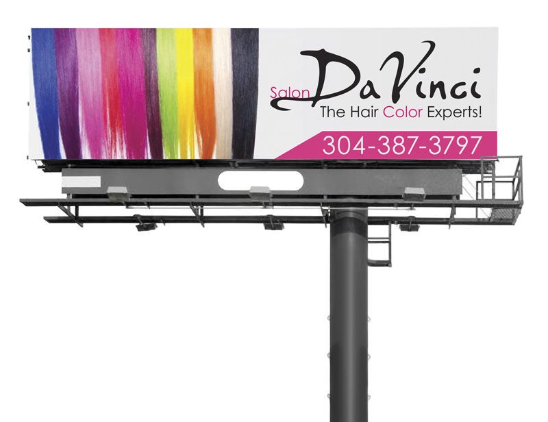 Salon DaVinci Billboard