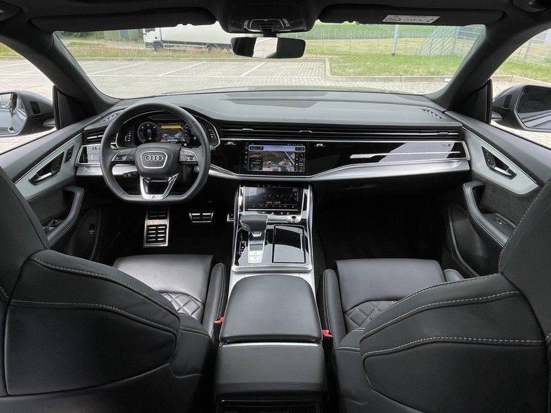 Audi Q8 50TDI 286pk Quattro S-Line Black Optic Lucht RS-Zetels B&O Pano Leder-Dash 22-Inch Soft-Close! afbeelding 17