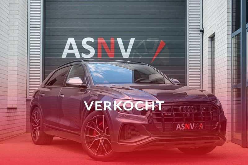 Audi SQ8 Quattro Pro Line S , 435 PK, Black/Optic, Head/Up, Pano/Dak, Valcona/Leder, S/Sportstoelen, 2020, 25DKM!! afbeelding 3