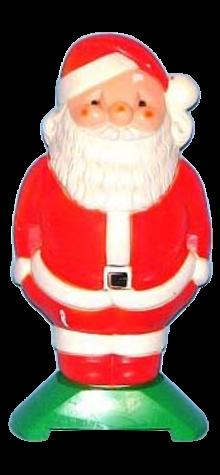 Santa Lamp photo