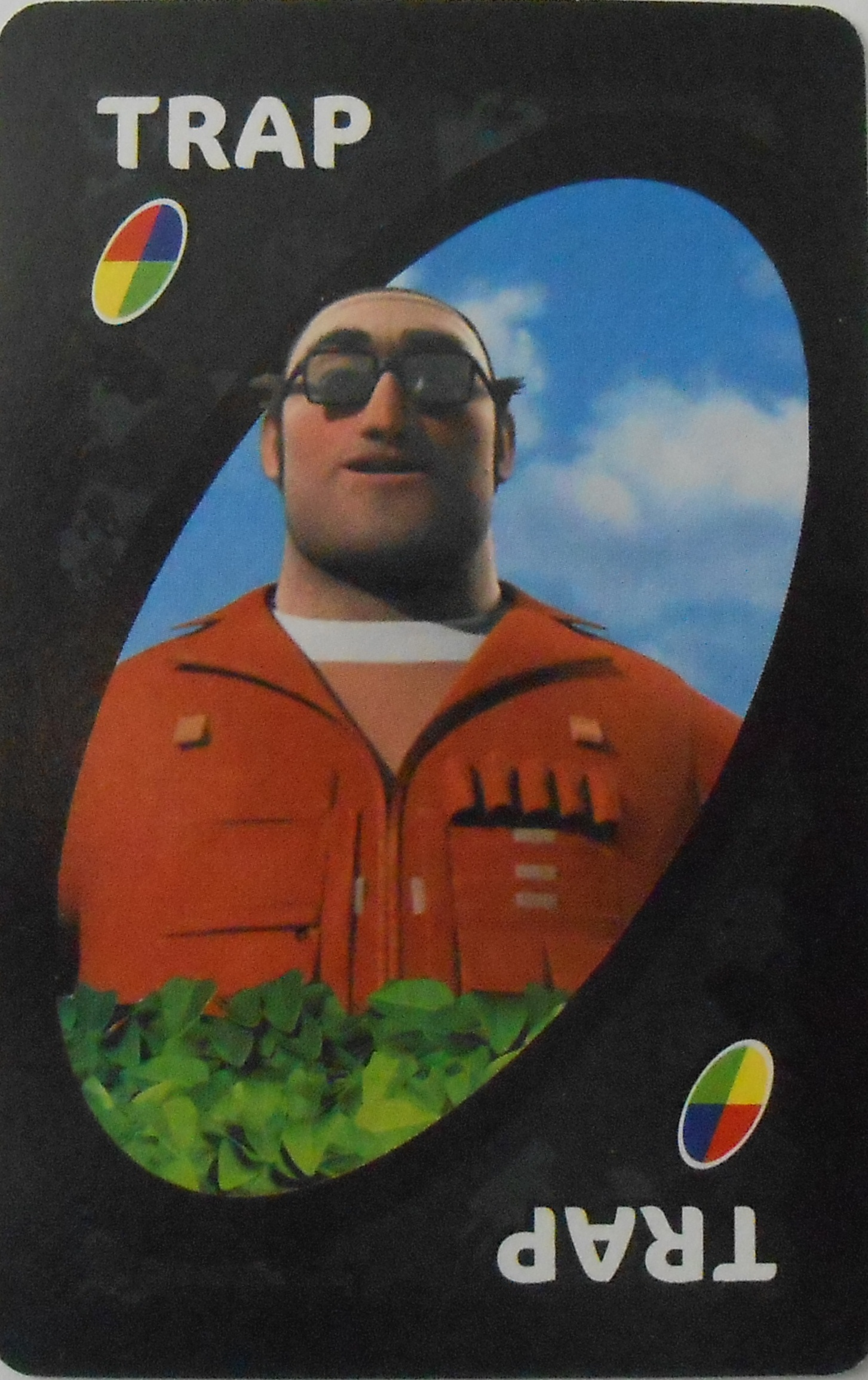 Over the Hedge Uno (Trap Card)