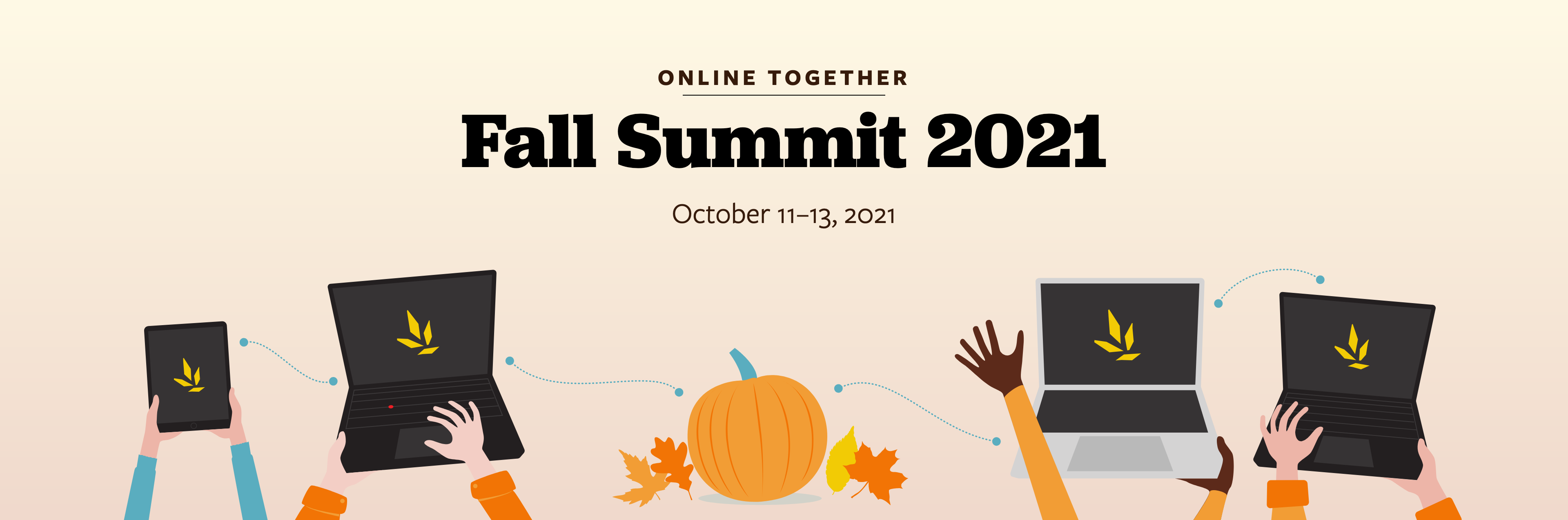 Online Together Fall Summit 2021, October 11-13